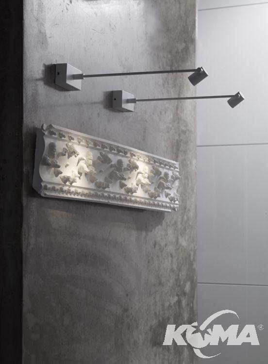 Pirius kinkiet 15cm. 3,5W LED chrom