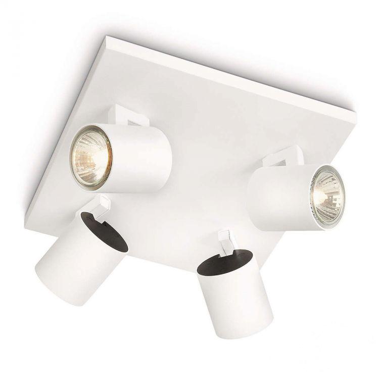 Runner reflektor 4x50W GU10 230V biały