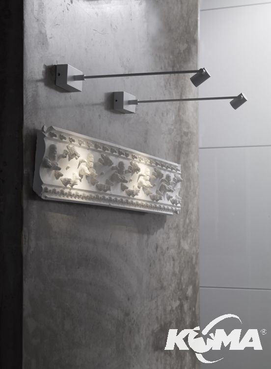 Pirius kinkiet 31cm. 3,5W LED biały