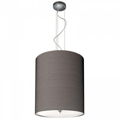 lampa wisząca z abażurem czarna Maze