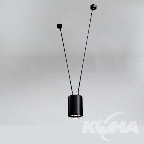 dohar lampy wiszące czarny Viwin SHILO