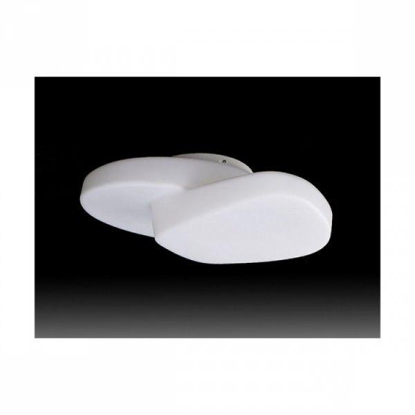 Ufo plafon IP44 4xe27/13W bialy
