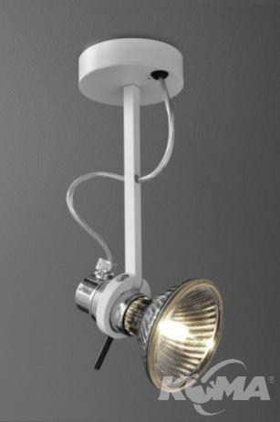 Uno kinkiet reflektor PAR30/E27/100W  bialy mat