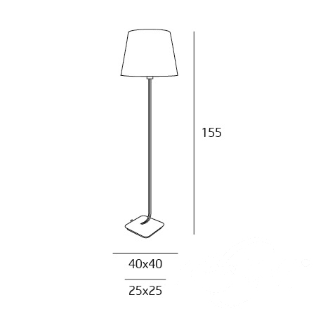 lampa podłogowa Denver MAXlight