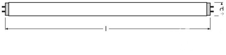 liniowa Osram Świetlówka OSRAM