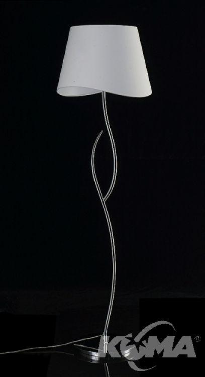 Ninette lampa podlogowa 4xe27/20W chrom