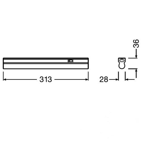 oprawa liniowa Linear LEDVANCE
