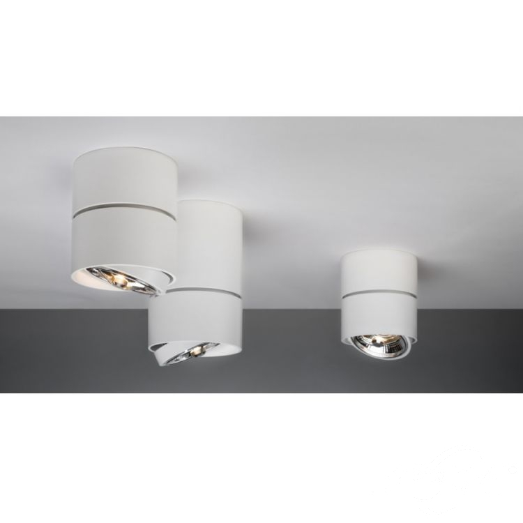 Grand lampa sufitowa 1x50W G53 230V biała