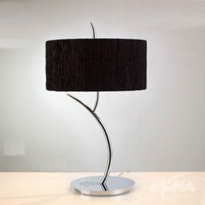 Eve lampka stolowa 2xe27/20W czarny