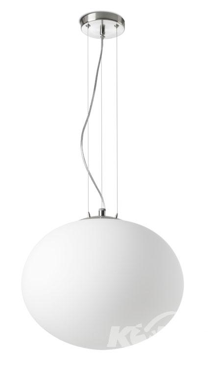NIMES oprawa wisząca 1x100W E27 d40cm biały