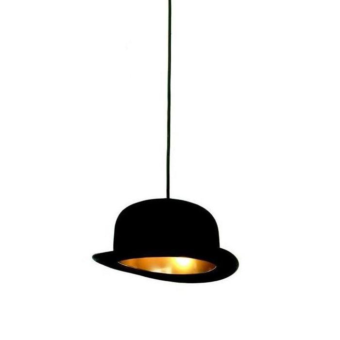 Jeeves lampa wisząca 1x25W G9 230V czarno-złota
