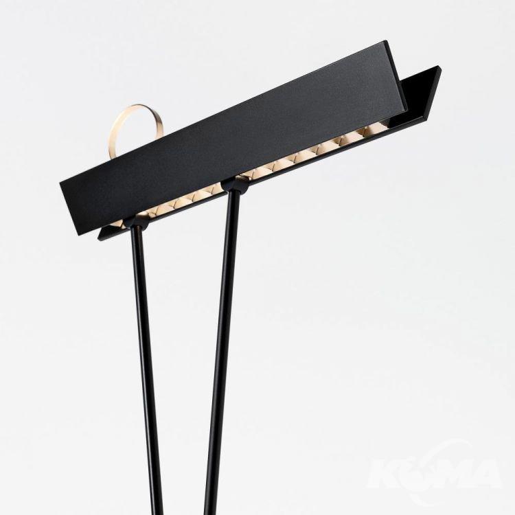 lampa podłogowa2x17W Leo ESTILUZ