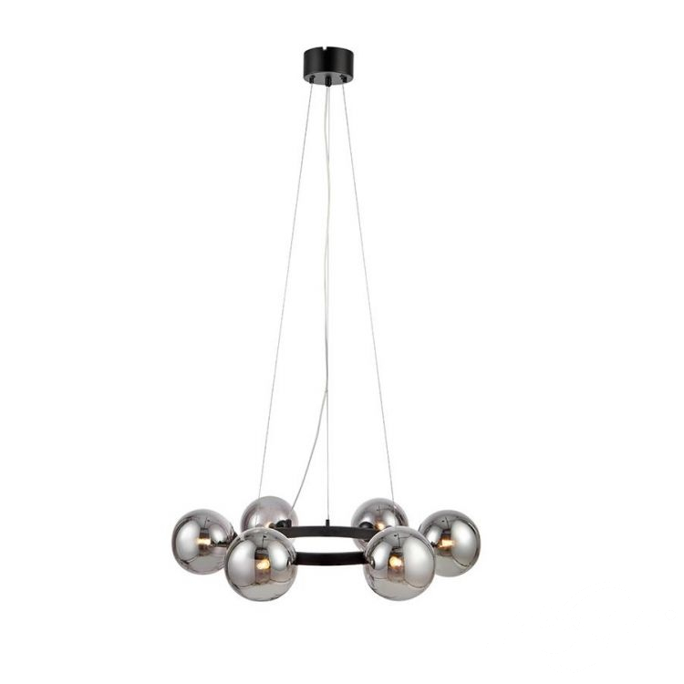 lampa wisząca czarna/dymiona Circle