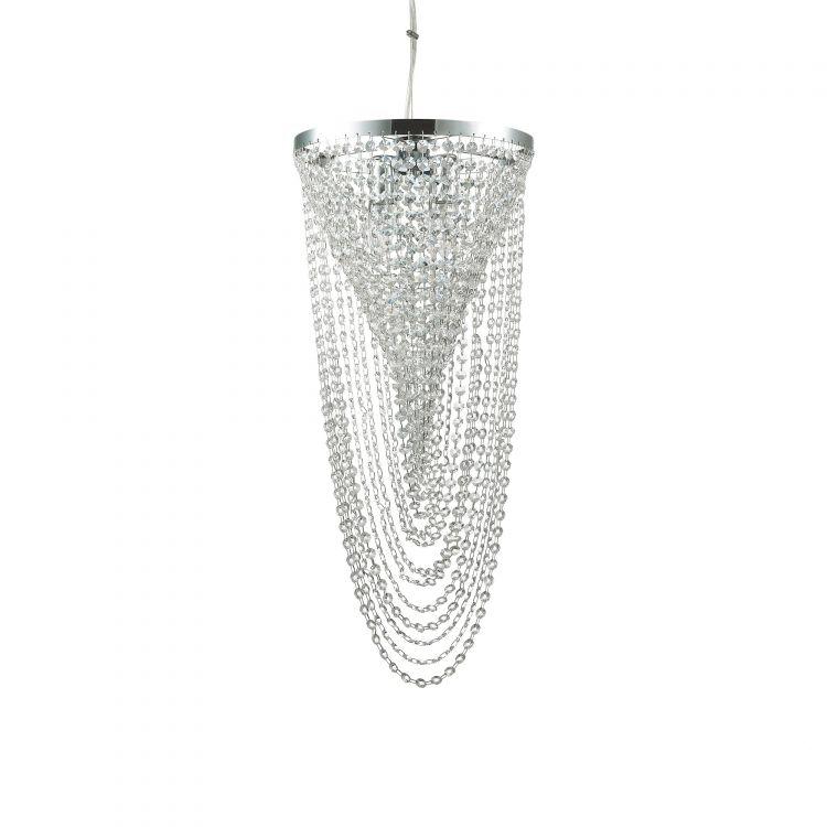 sp4 lampa wisząca chrom Pearl IDEAL LUX