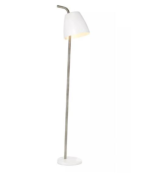 lampa podłogowa biała Spin MARKSLOJD