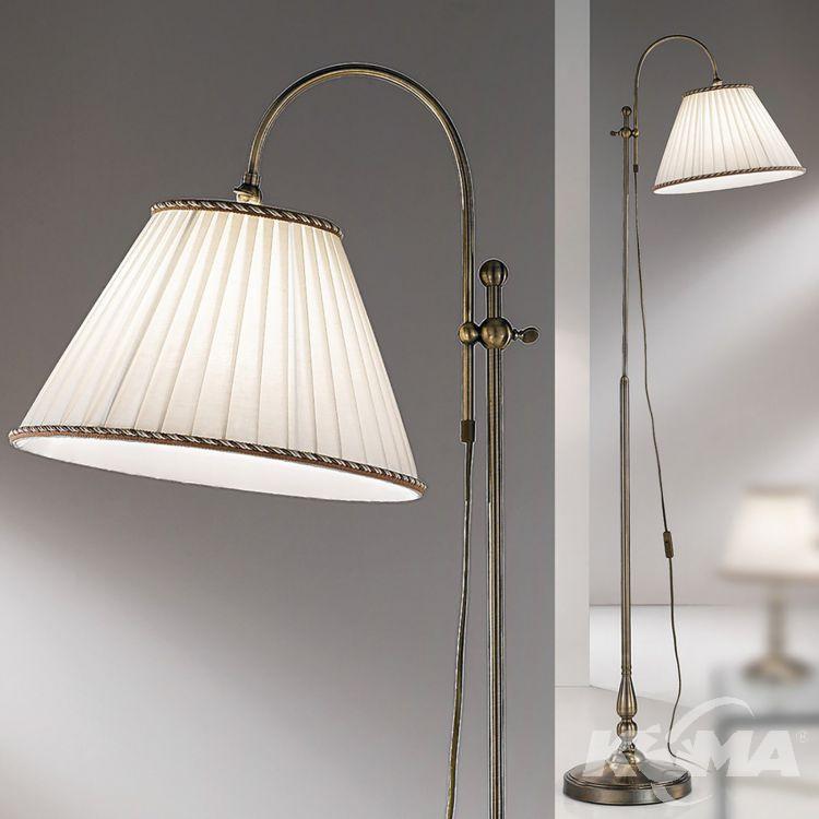 podłogowa E27/60W patyna Lampa ORION