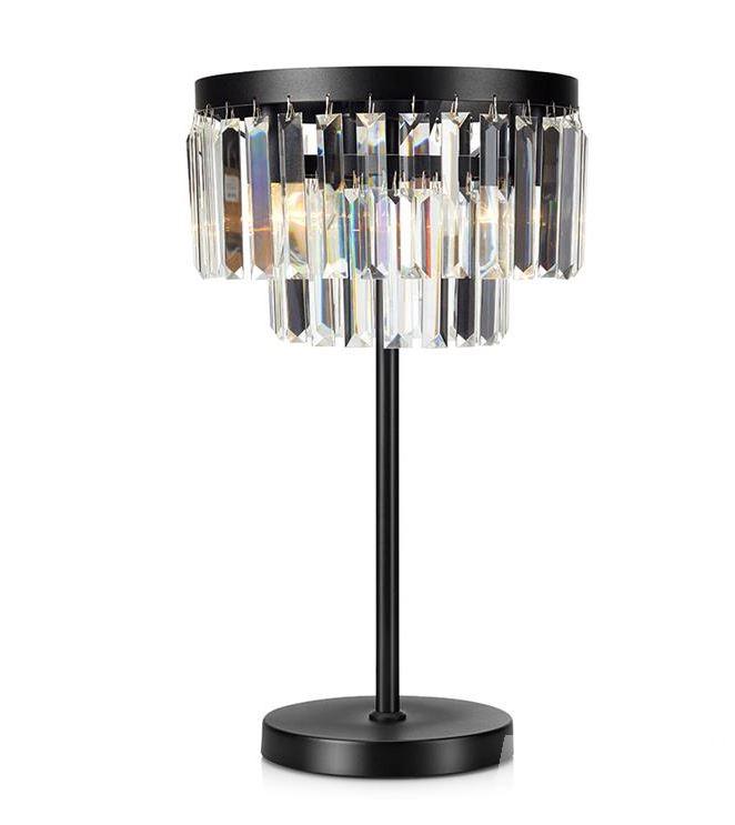 lampa stołowa czarna led Umbrella MARKSLOJD