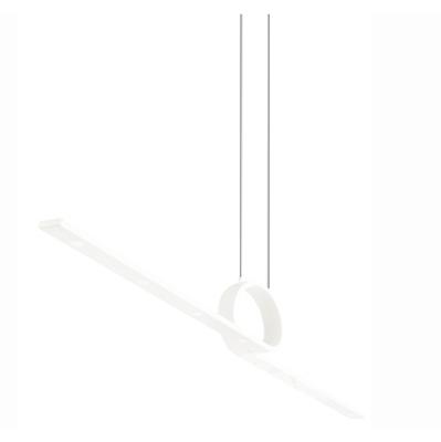 Curl oprawa wisząca ściemnialna 24W led 115.4cm biały