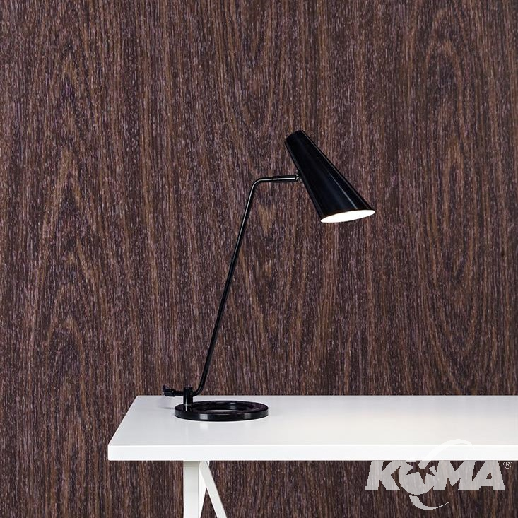 Cal lampa stołowa 1x40W E14 230V czarna