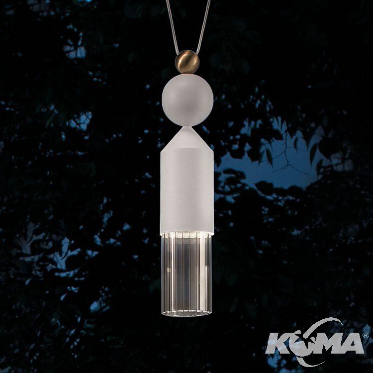 Nappe N4 lampa wisząca 5W LED 3000K 230V biała
