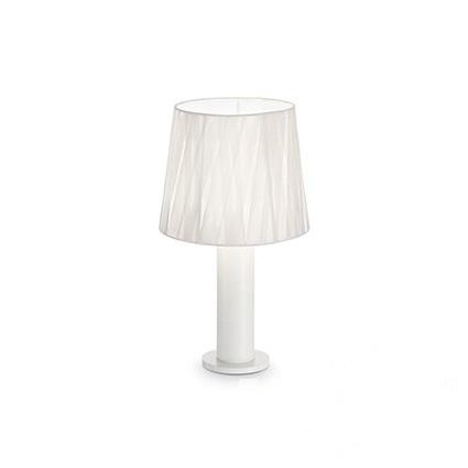 Effetti lampa stołowa 1x60W E27 230V biała