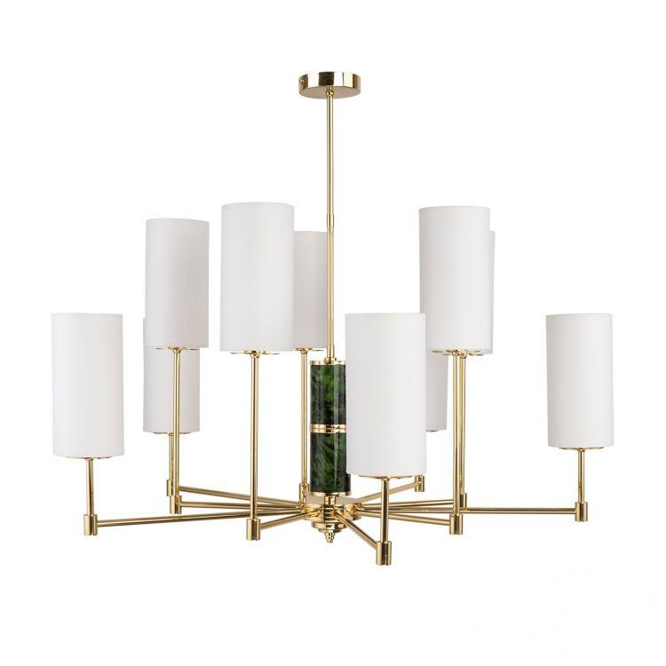 lampa wisząca żyrandol złoty Beleza KUTEK MOOD