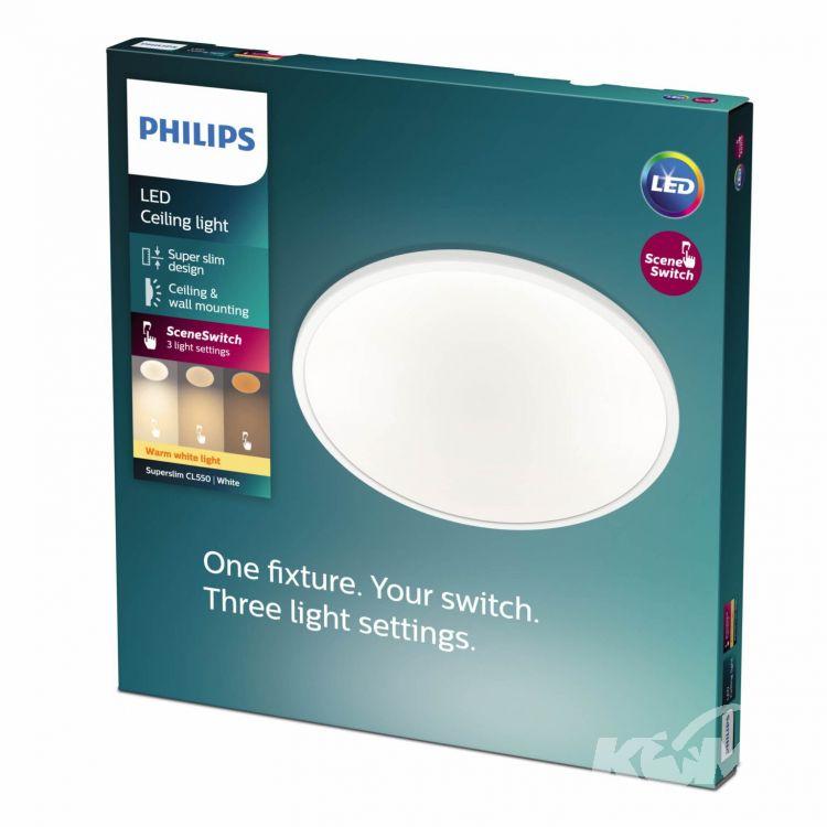 lampa sufitowa plafon Superslim_cl550 PHILIPS