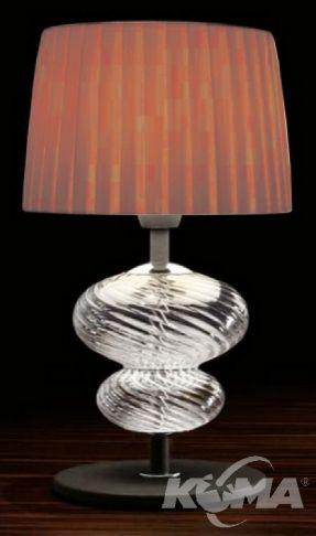 Musa lampka stojaca mala 1x60W E14 brąz