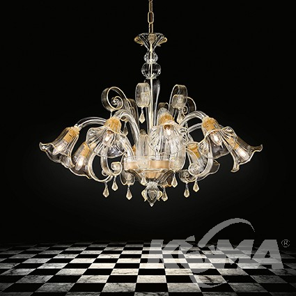 D'Oro lampa wisząca Ca IDEAL LUX