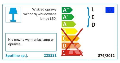 Trail-Lite lampa zewnętrzna gruntowa Power SPOTLINE