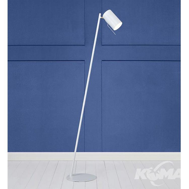 Carrie lampa podłogowa 1x35W GU10 230V biała + złote elementy