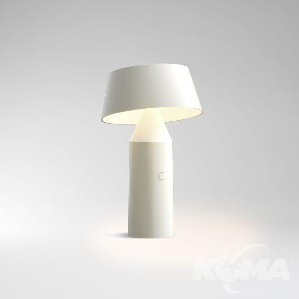 lampka przenośna biała  Bicoca MARSET
