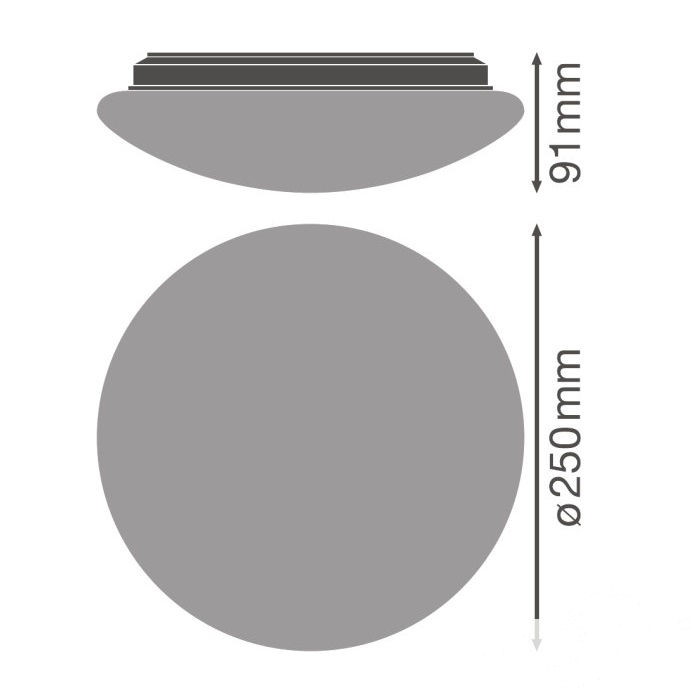 Circular plafon łazienkowy hermetyczny Surface LEDVANCE