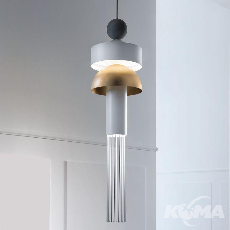 Nappe XL1 lampa wisząca 8,5W + 12W LED 3000K 230V biała