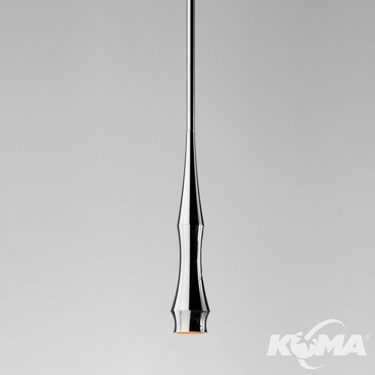 Slend 1 lampa wisząca 1x6W GU10 230V chrom