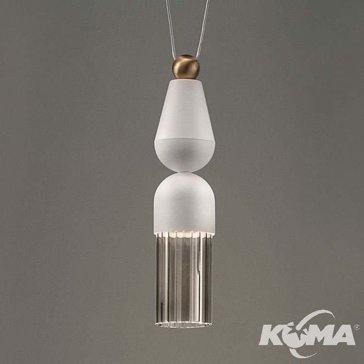Nappe N7 lampa wisząca 5W LED 3000K 230V biała