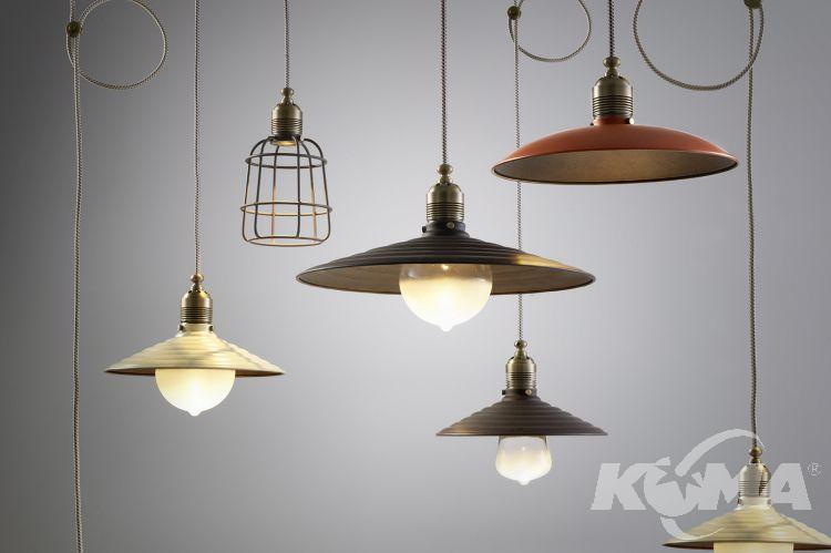 klosz metalowy Vintage LEDS C4