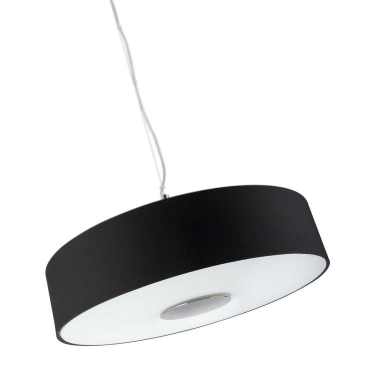 Flora lampa wisząca 3x60W E14 230V czarna