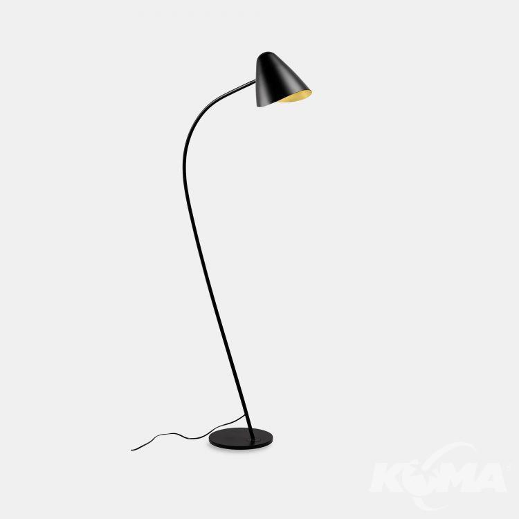 lampa stołowa czarna/zlota Organic LEDS C4