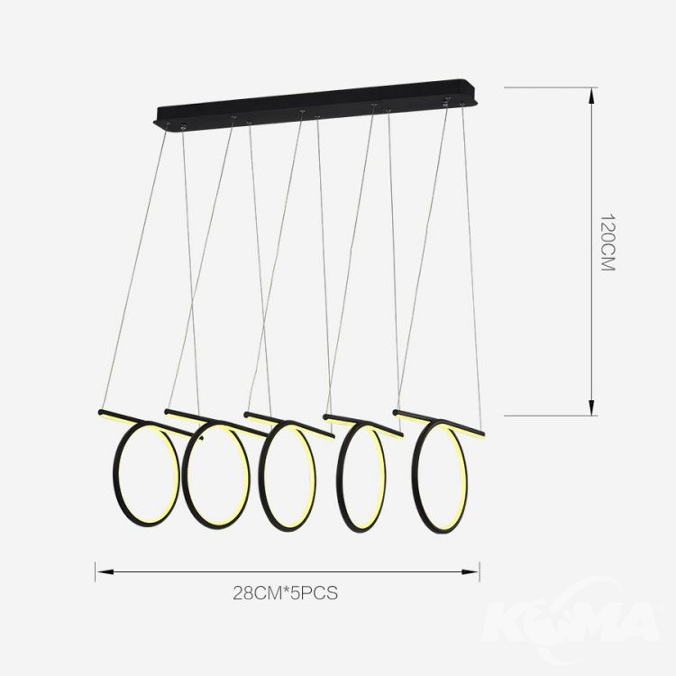 lampa wisząca Spiral-Multi
