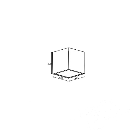 kwadrat plafon Belona CLEONI