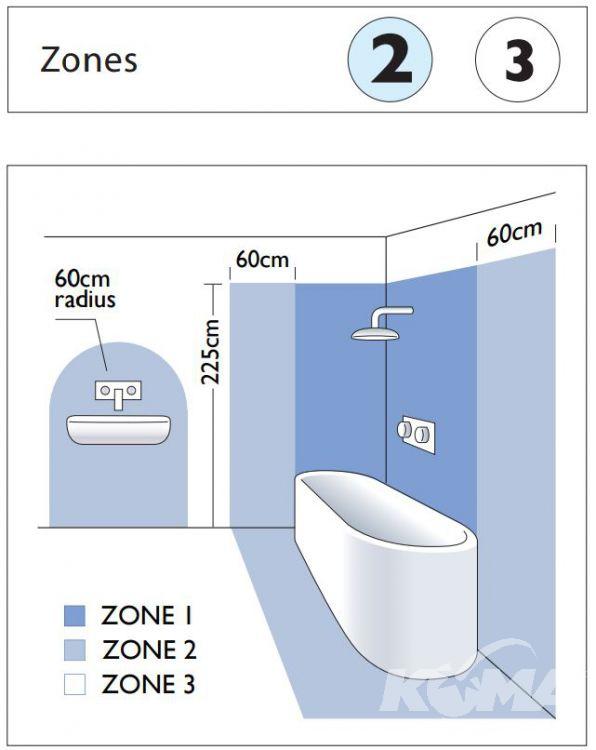 Grosvenor kinkiet łazienkowy 1x40W G9 230V chrom