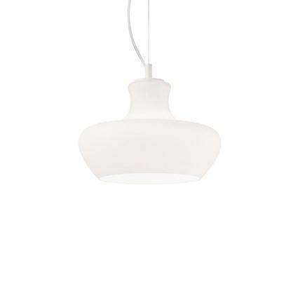 Aladino lampa wisząca 30cm 1x60W E27 230V biała