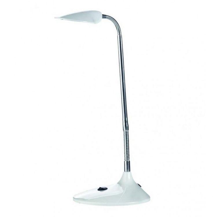 KLEPP lampka biurkowa led biała