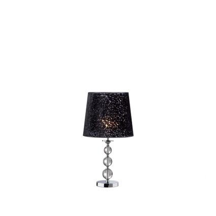 Step lampa stołowa 1x60W E27 67cm czarny