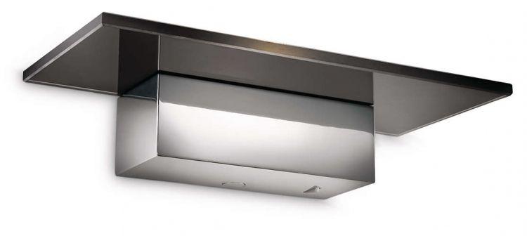 Matrix kinkiet LED 1x6.5W 230V czarny/chrom