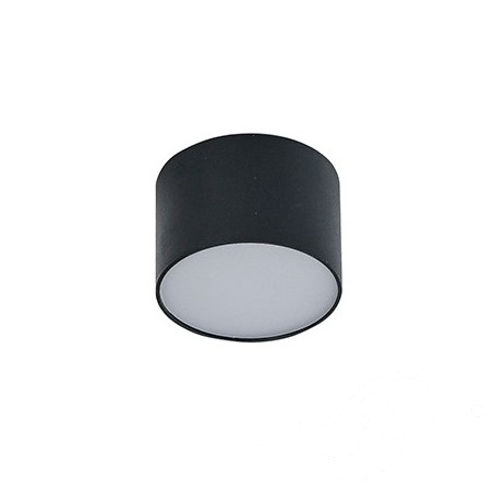 Monza R 8 plafon 5W LED 3000K 230V czarny