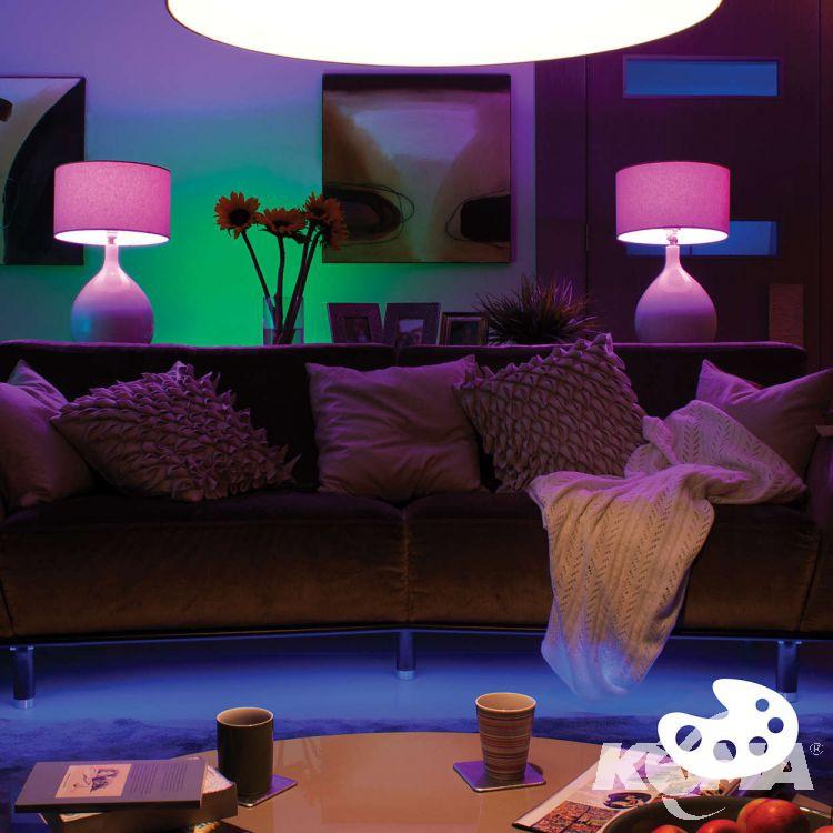 Philips Hue zestaw startowy (mostek + 3 żarówki GU10 RGB + ściemniacz)