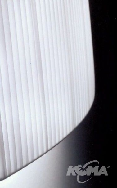 Wall street kinkiet 21cm 1x40W E27 satin nickel abaur wstazki bialy