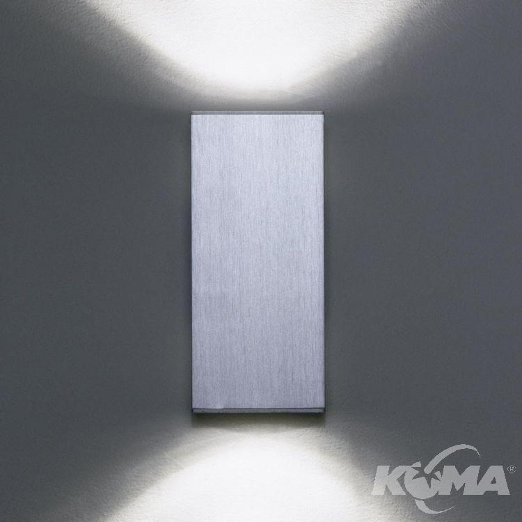 doble kinkiet aluminium Dau MILAN
